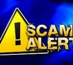 scam alert warning