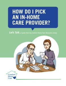 how to pick an in-home care provider