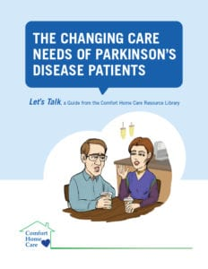 the changing care needs of parkinson's disease patients