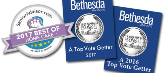 Comfort Home Care Receives 'Best of Bethesda' Community Award
