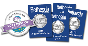 Comfort Home Care Receives 4th 'Best of Bethesda' Community Award