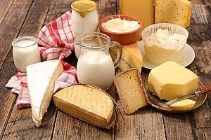 dairy products that do not contribute to a balanced diet for Parkinson's disease and should be avoided by those suffering from PD