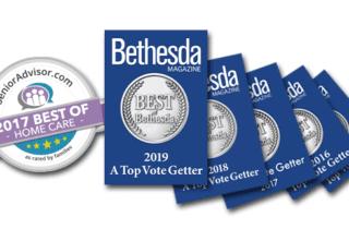 Comfort Home Care 5x Winner of 'Best of Bethesda' Community Award