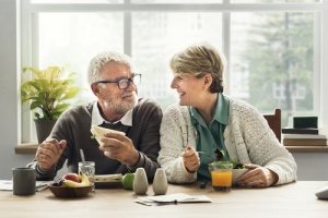 Elderly People Healthy Eating