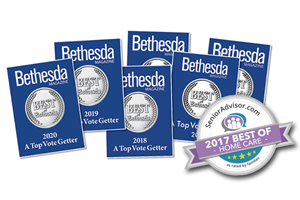 Comfort Home Care Wins Best of Bethesda Award