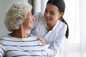 In-Home Care with an Elderly