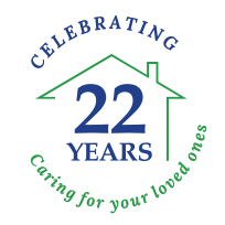 Comfort Home Care - Celebrating 20 Years Logo